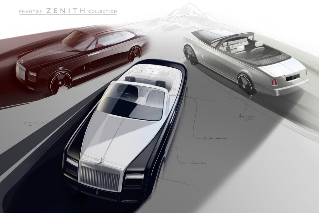 Rolls-Royce Phantom Zenith, la special edition che fa calare il sipario su Coupé e Drophead