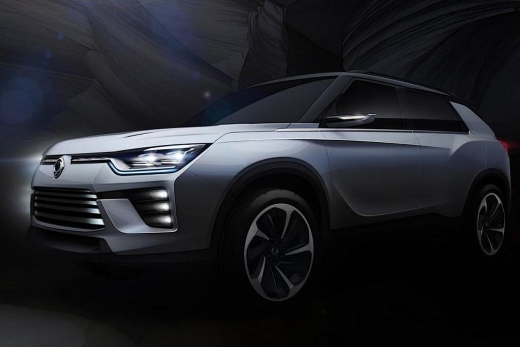 SsangYong SIV-2 Concept - Teaser