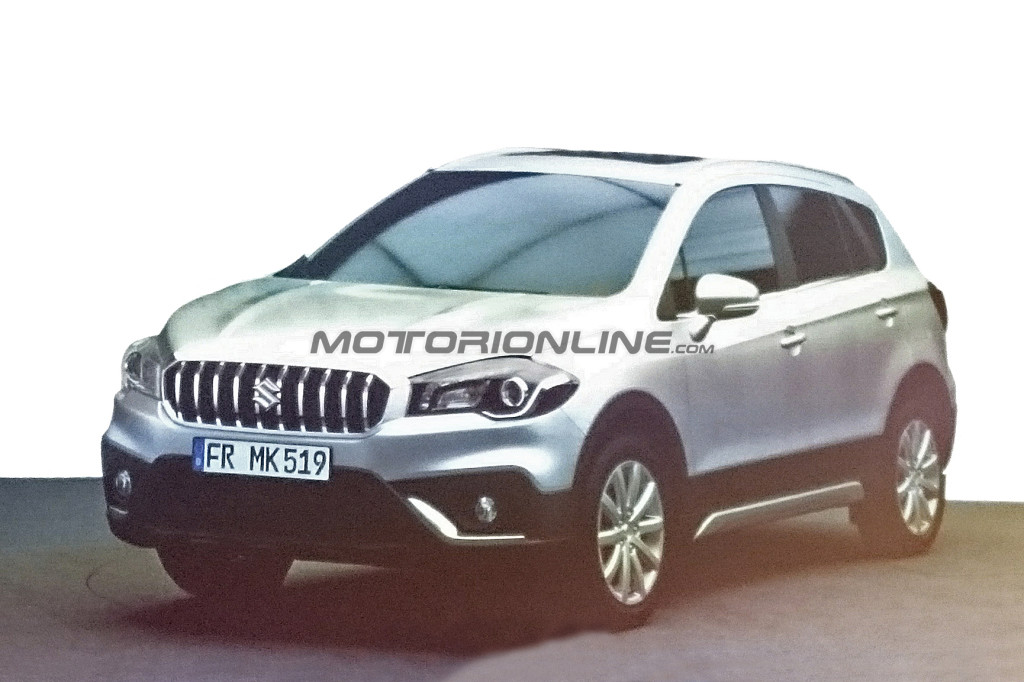suzuki sx4 s cross 2016 foto leaked ci svelano in anticipo il facelift. Black Bedroom Furniture Sets. Home Design Ideas