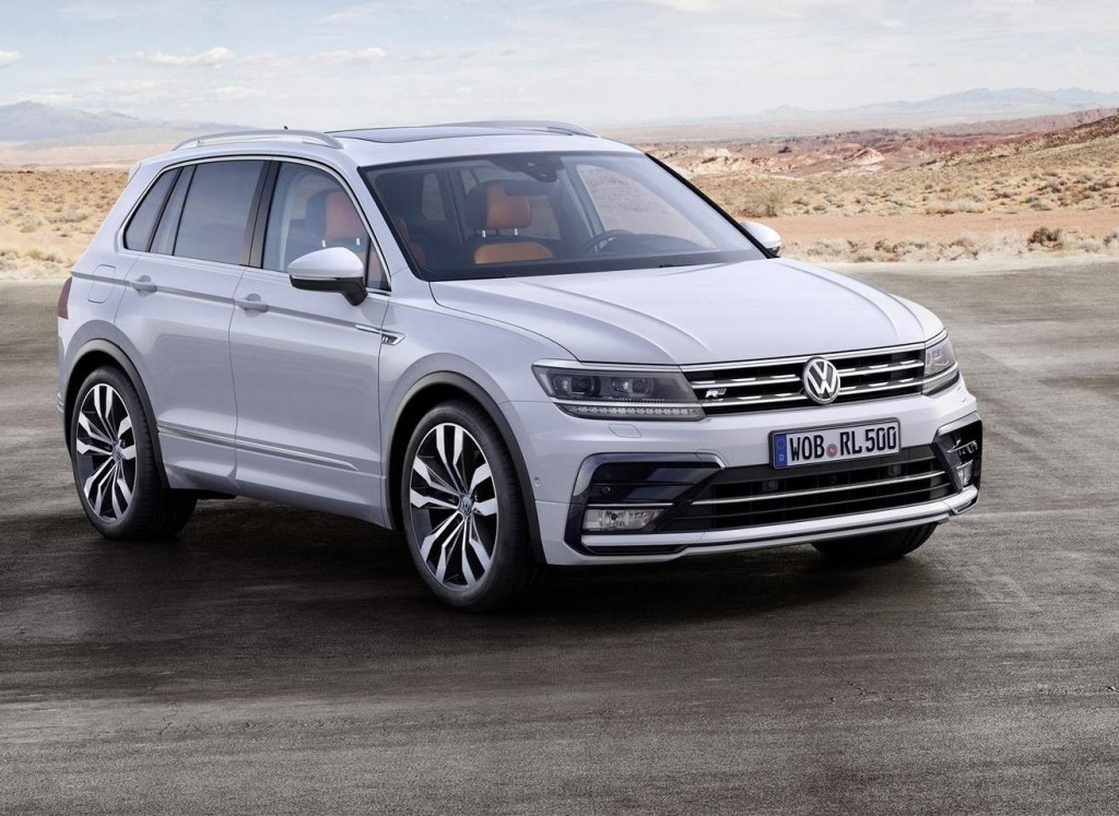 Volkswagen Tiguan MY 2016, svelati i prezzi per l'Italia: si parte da 27.550 euro