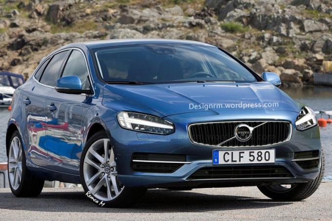 Volvo V40, aggiornamento alle porte: il restyling sarà svelato il 24 febbraio