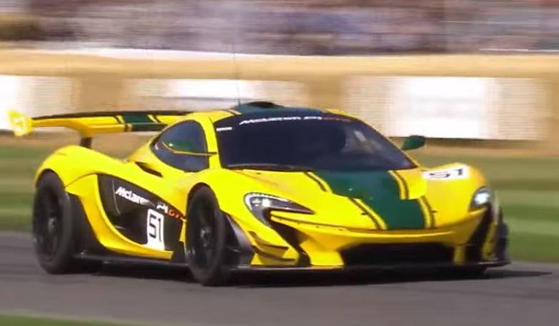 Goodwood Festival of Speed: la Mclaren P1 GTR guidata da Kenny Brack [VIDEO]