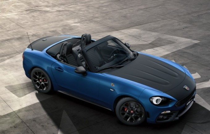 abarth 124 spider cinque colori disponibili per gli. Black Bedroom Furniture Sets. Home Design Ideas