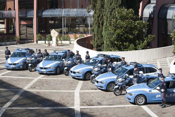 BMW per le nuove volanti della Polizia Stradale