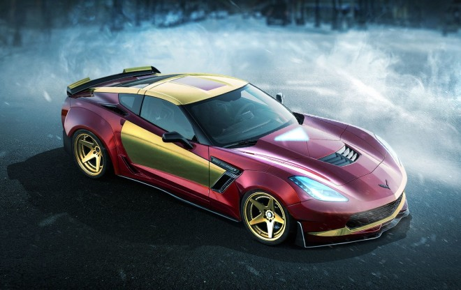 Corvette-C7-Iron Man