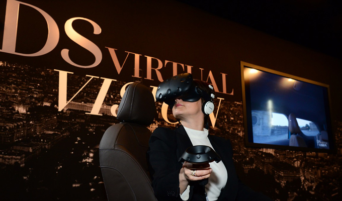 DS Virtual Vision: esperienza 3D alla scoperta di nuova DS 3