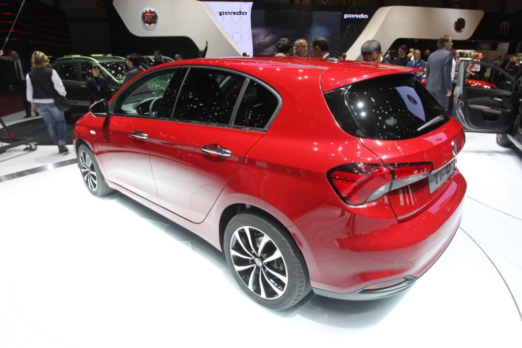 Fiat Tipo Hatchback - Salone di Ginevra 2016