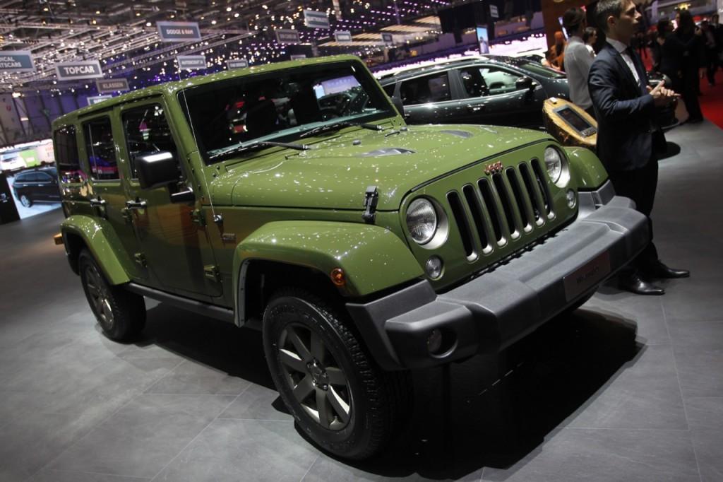 Jeep Wrangler 75th anniversary - Salone di Ginevra 2016