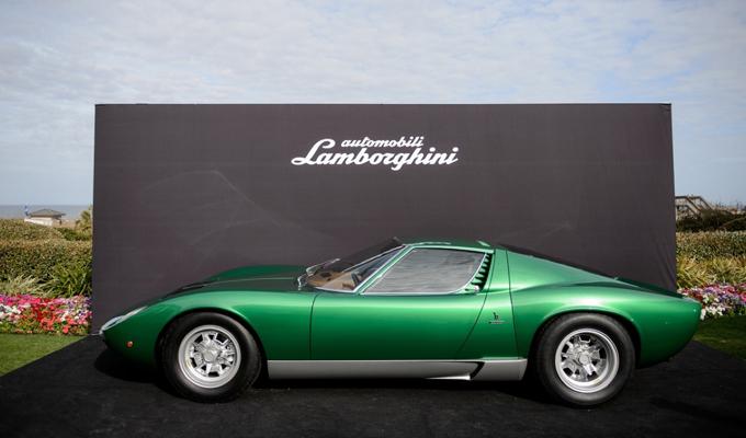 I 50 anni della Lamborghini Miura
