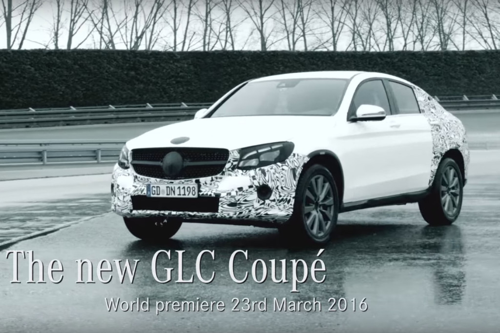 Mercedes GLC Coupé: VIDEO TEASER adrenalinco con vista su New York