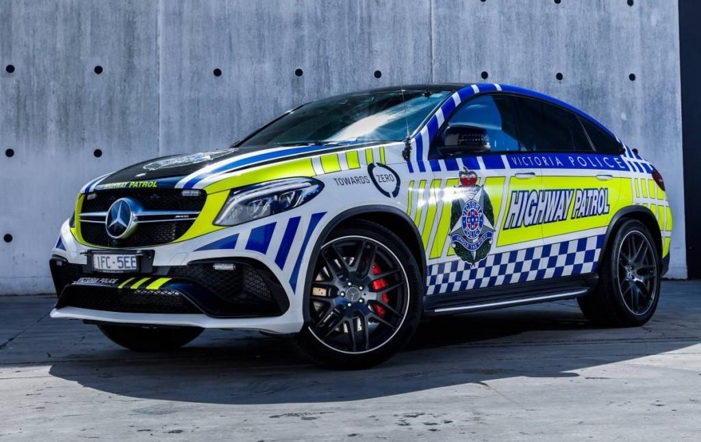 Mercedes GLE 63 AMG S Coupe - Polizia australiana