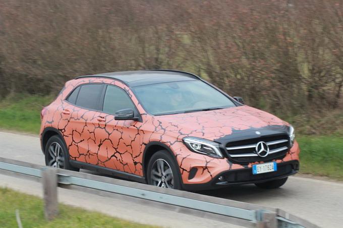Mercedes GLA Enduro 200 d 4Matic Terre Aride - prova