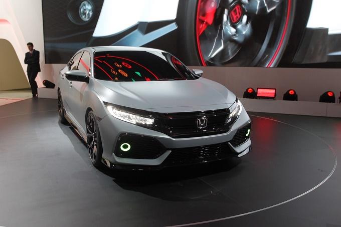 Honda Civic Hatchback Prototype - Salone di Ginevra 2016
