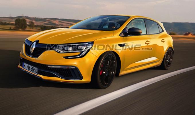 Nuova Renault Mégane RS: potrebbe avere oltre 300 cavalli e la trazione integrale [RENDERING]