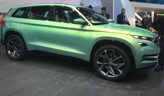 Škoda VisionS Concept: un'idea di SUV secondo la casa ceca [VIDEO]