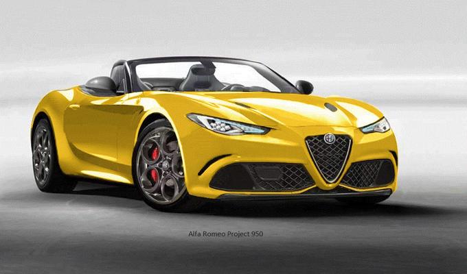 Alfa Romeo Una Nuova Ipotesi Di Spider Rendering