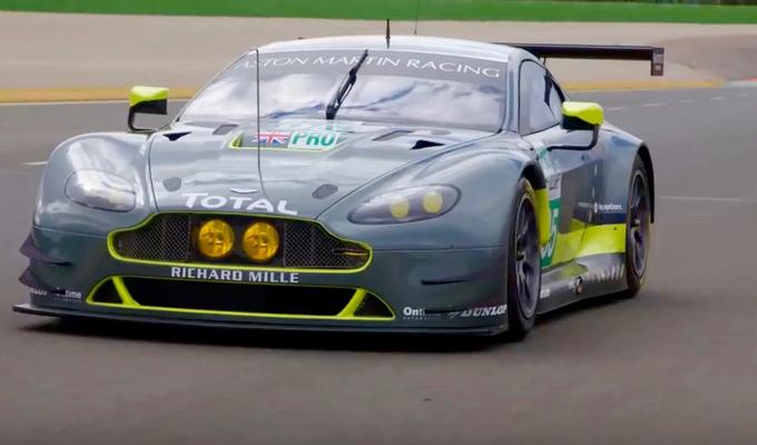 Aston Martin V8 Vantage GTE: a caccia di gloria nel WEC 2016 [VIDEO]