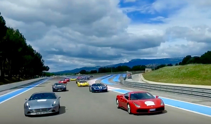 Ferrari al Tour Auto Optic 2000: sulle strade francesi con grinta ed eleganza [VIDEO]