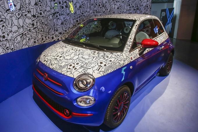 Novità auto: Garage Italia Customs: ecco la Fiat 500 firmata Pepsi