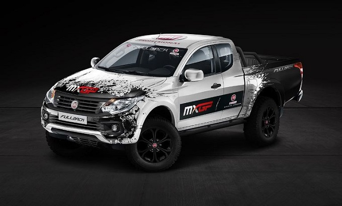 fiat fullback ha debuttato come auto ufficiale del mxgp 2016. Black Bedroom Furniture Sets. Home Design Ideas