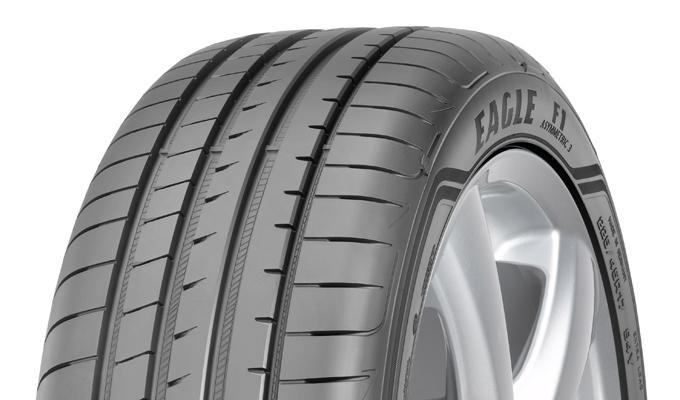Goodyear Eagle F1 Asymmetric 3: primo equipaggiamento per la nuova Mercedes Classe E