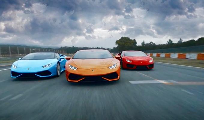 Lamborghini Huracán: alto dinamismo in più versioni [VIDEO]