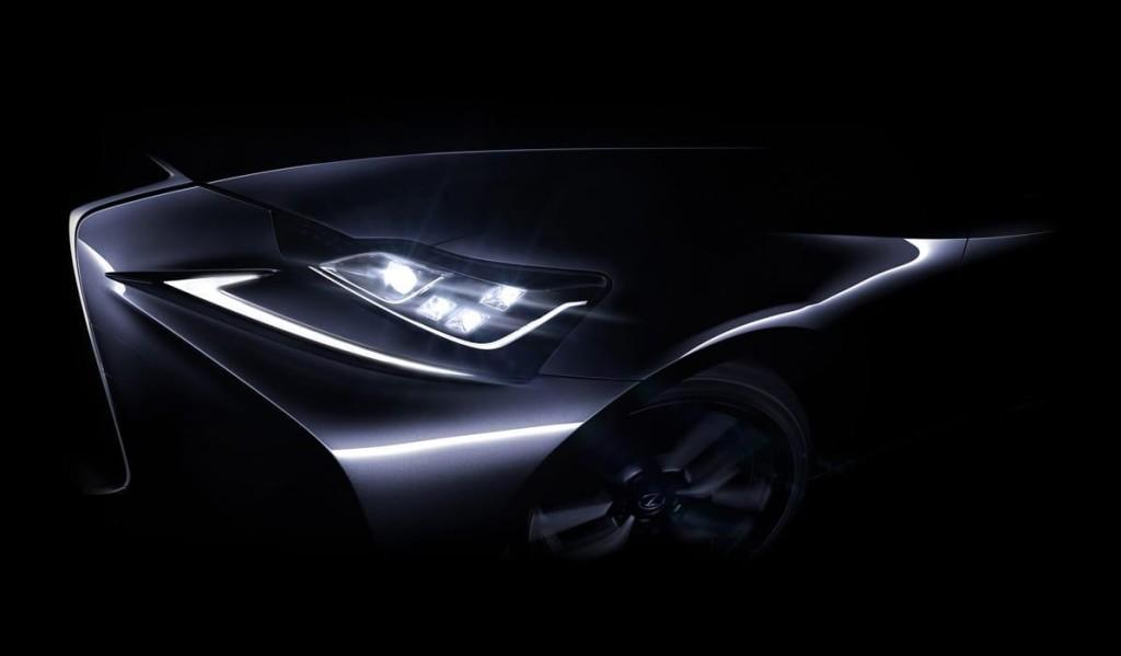 Lexus IS MY 2017, prima anticipazione del restyling in vista del debutto a Pechino [TEASER]