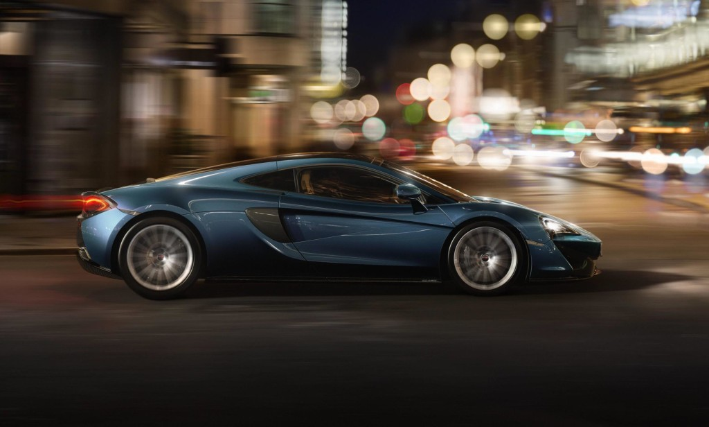 McLaren 570GT, debutto in patria al London Motor Show 2016