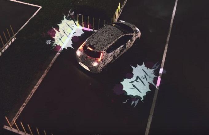 Nissan Leaf legge la mente di chi guida e proietta in strada i suoi pensieri [VIDEO]