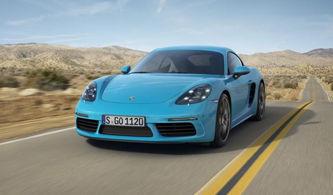 Porsche 718 Cayman: un design dalle linee fluide [VIDEO]