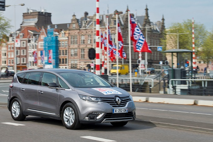 Renault ESPACE Autonomous Drive demonstrators, la guida autonoma è per tutti
