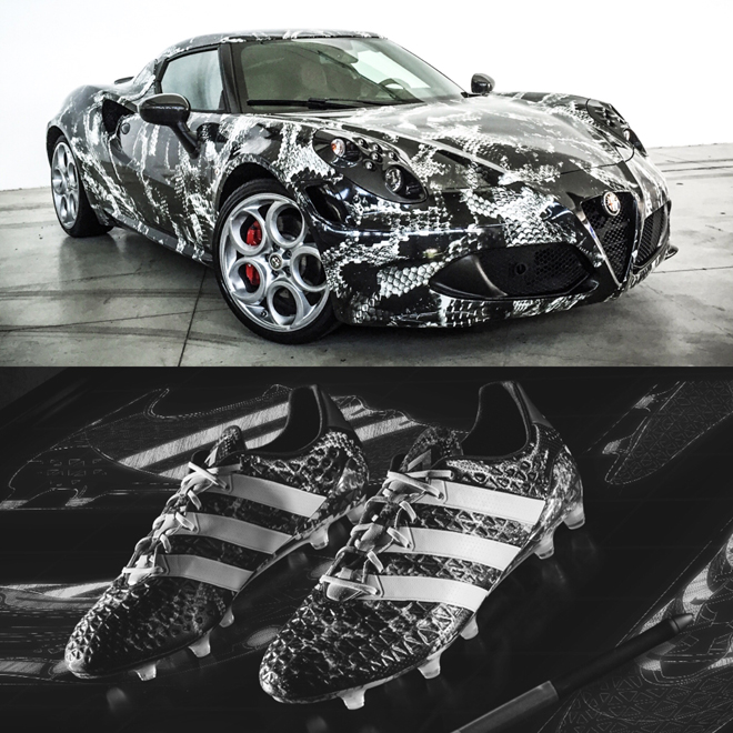 Alfa Romeo 4C Deadly Snake by Garage Italia Customs: uno stile calamitante