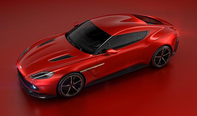 Aston Martin Vanquish Zagato Concept: grinta e raffinatezza rivestite di un rosso brillante [VIDEO]
