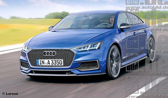 Audi A3 Sportcoupé: una nuova berlina sportiva degli Anelli nel 2019? [RENDERING]