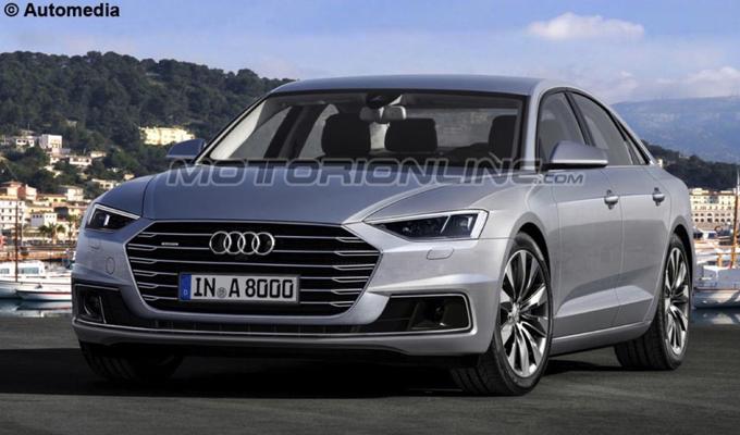Audi A8: la prossima generazione attesa nel 2017