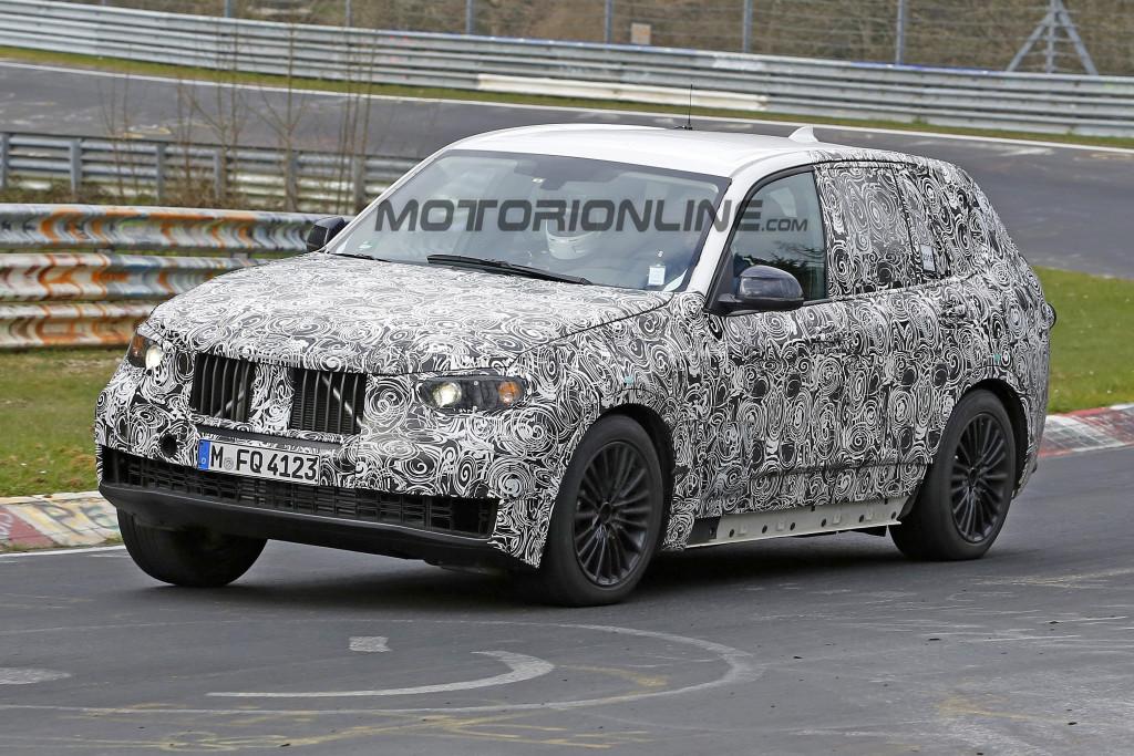 BMW X5 MY 2018 - Foto spia 03-05-2016