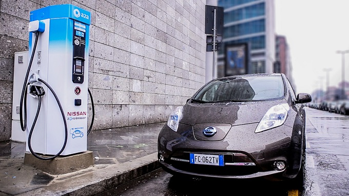 Nissan - Colonnina ricarica A2A Milano