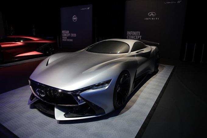 Infiniti Concept Vision GT anticipa l'evoluzione delle hypercar di domani