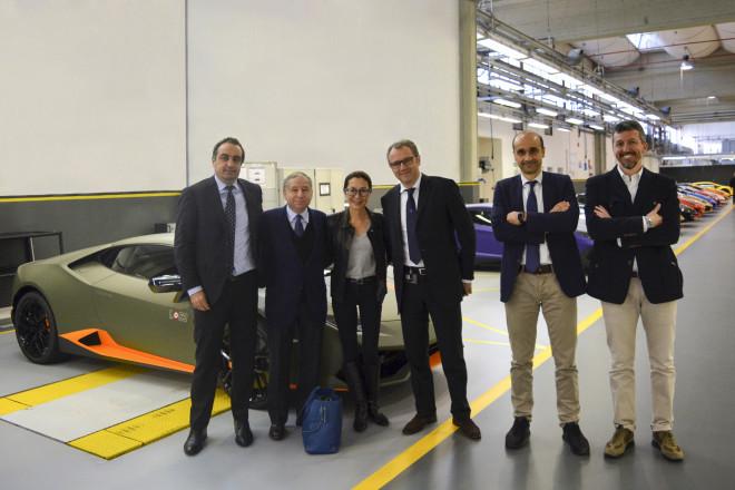 Jean Todt in visita alla Lamborghini (2)