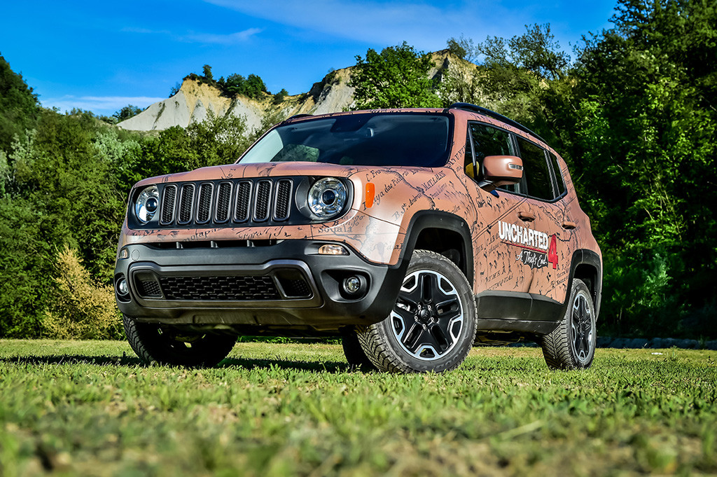 Jeep Renegade Uncharted Edition by Garage Italia Customs