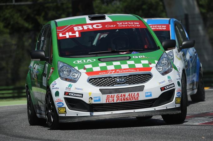 Green Hybrid Cup 2016: le Kia Venga preparate da BRC pronte al debutto nelle gare in salita