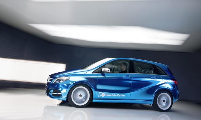 Mercedes: i nuovi modelli elettrici in arrivo