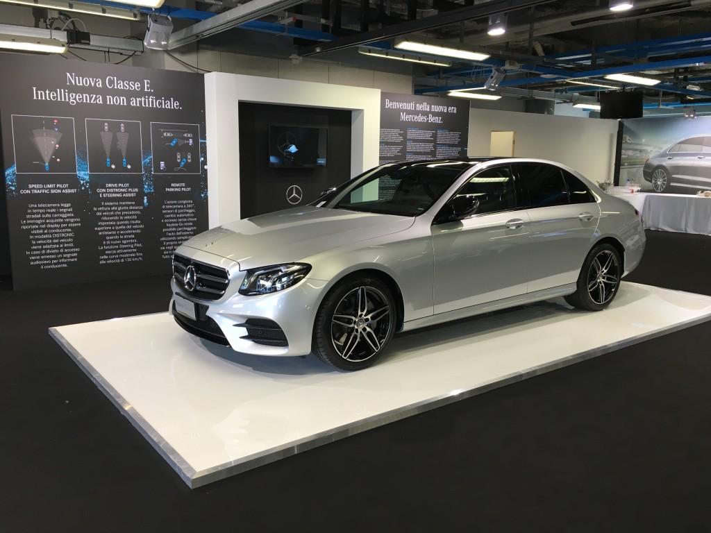 Nuova Classe E: un'auto su misura per i clienti business