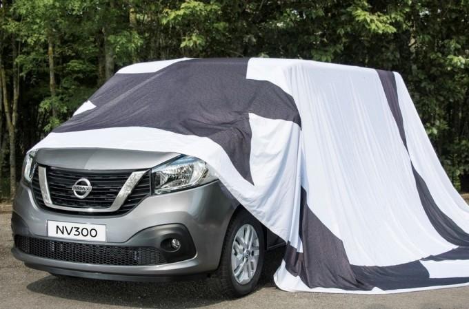 Nissan NV300, prime anticipazioni del nuovo veicolo commerciale [TEASER]