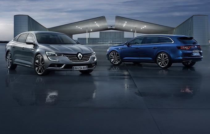 Renault Talisman elegante courtesy-car per i clienti di sei esclusivi alberghi italiani a 5 stelle