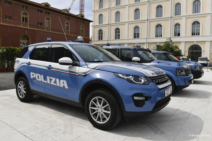 Land Rover Discovery Sport e Land Rover Discovery 4 alla festa della Polizia di Stato a Roma