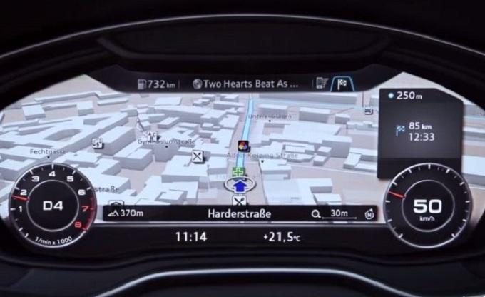 Nuova Audi A4, è tutto sott'occhio con l'aggiornato Virtual Cockpit [VIDEO]