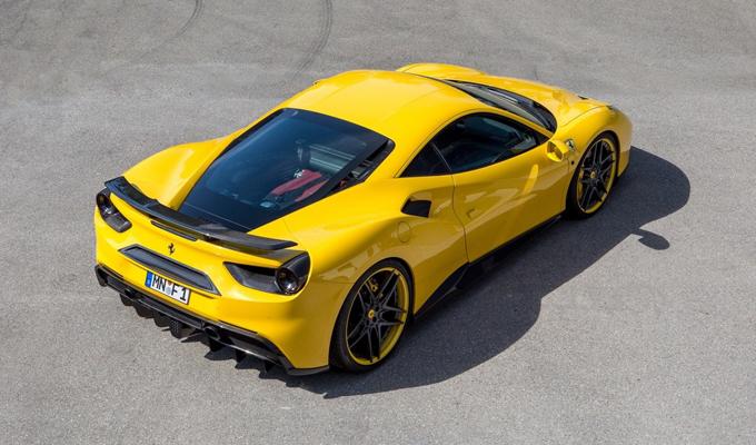 Ferrari 488 GTB by Novitec Rosso