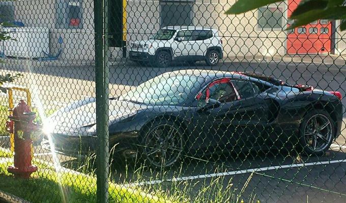 Ferrari Dino: avvistato un possibile muletto?
