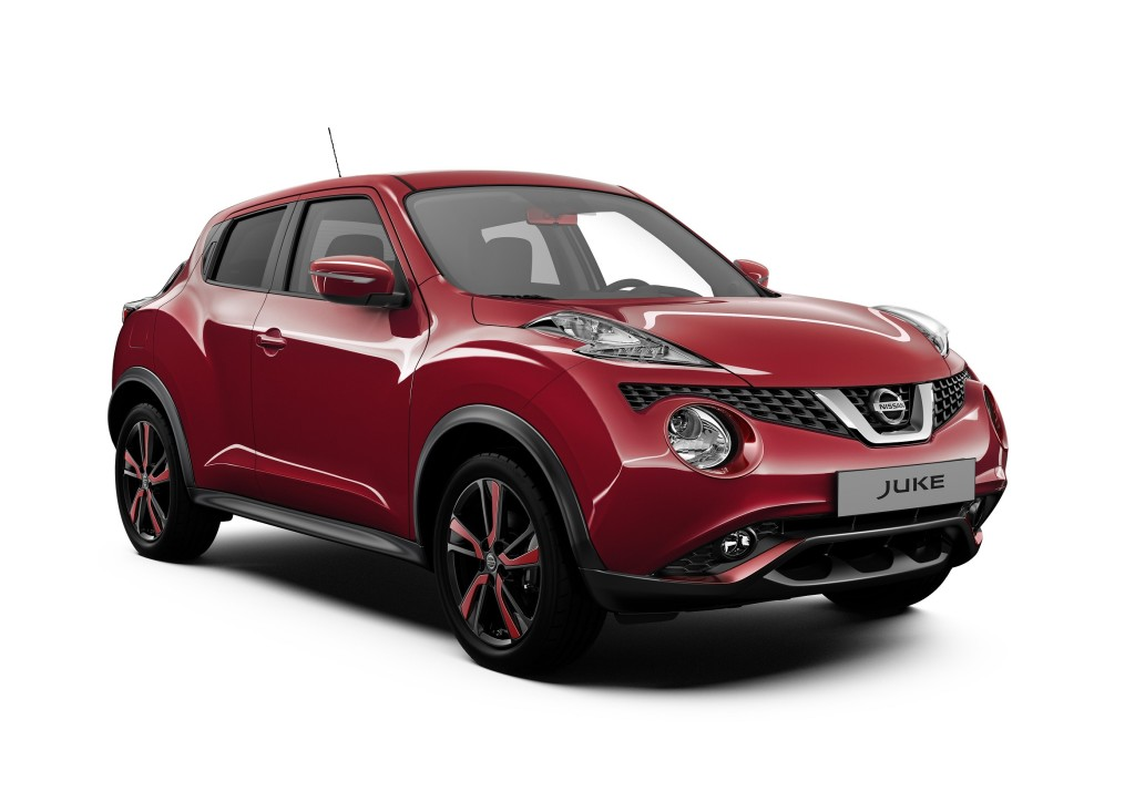 nissan juke dynamic in vendita la nuova edizione limitata. Black Bedroom Furniture Sets. Home Design Ideas